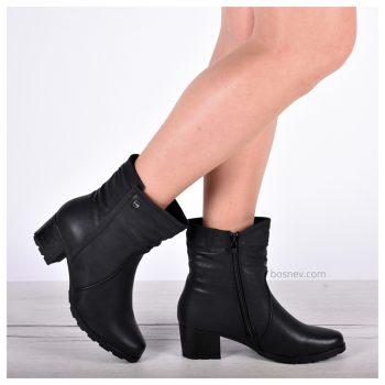 Дамски боти в черно 7955-1