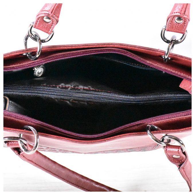 Дамска чанта - бордо