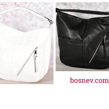 Дамски чанти - черно и бяло