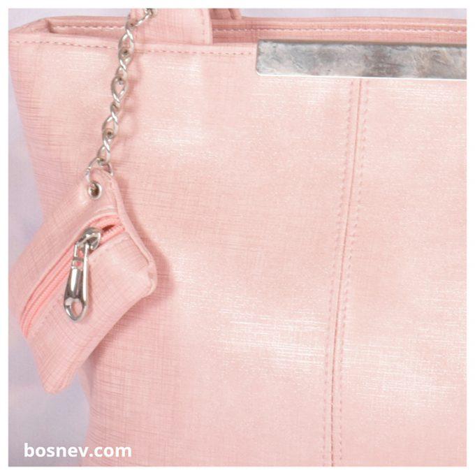 Дамска чанта в розово 832